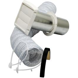"3"" - 4"" Bathroom Wall Fan Vent Kit thumb"