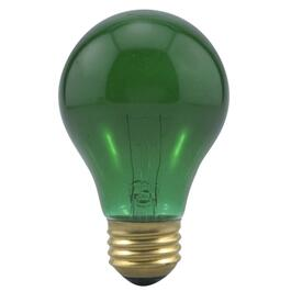 25W A19 Medium Base Green Light Bulb thumb