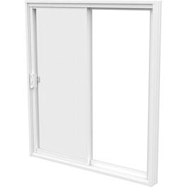 "6' x 6'8"" Odyssey FO Low-e Glass PVC Patio Door, with 5-1/2"" Frame thumb"