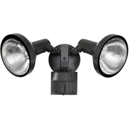 Bronze 180 Degree 2 Light Motion Detector Security Light thumb
