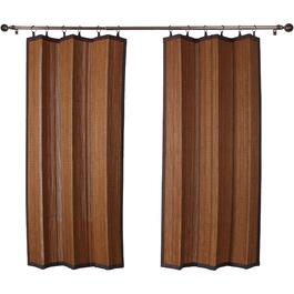 "72"" Espresso Natural Bamboo Outdoor Curtain thumb"