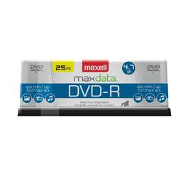 25 Pack 4.7GB DVD-R Spindle Disks thumb