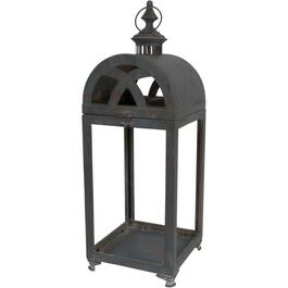 "16.5"" St Regis Antique Graphite Metal Lantern thumb"