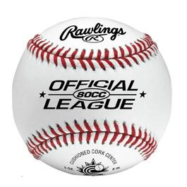 "9"" Official League Leather Baseball thumb"