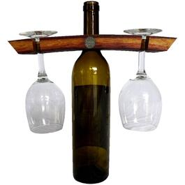 Dual Wine Glass Display Holder thumb