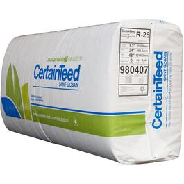 "R28 x 24"" Fiberglass Insulation, covers 64.0 sq. ft. thumb"