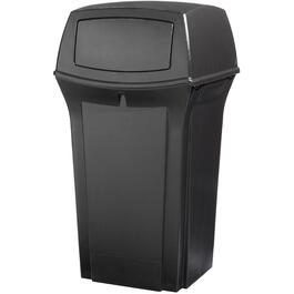 35 Gallon Black Ranger Garbage Can thumb