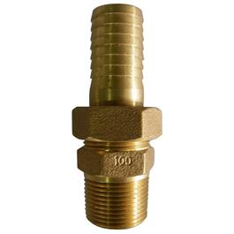"1"" Male x 1"" Insert Brass Union Adapter thumb"