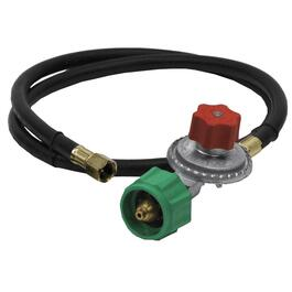 "60"" Liquid Propane Stove Hose, with Regulator and Quick Connect Coupling thumb"
