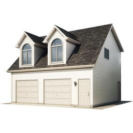 28' x 26' Loft Garage Package, with Complete Exterior Option thumb