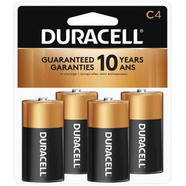 4 Pack Alkaline C Batteries thumb