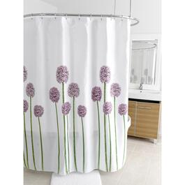 "70"" x 72"" Allium Polyester Shower Curtain thumb"