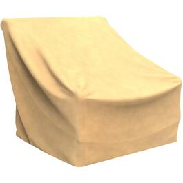 "41"" x 37"" x 39"" Tan Patio Chair Cover thumb"