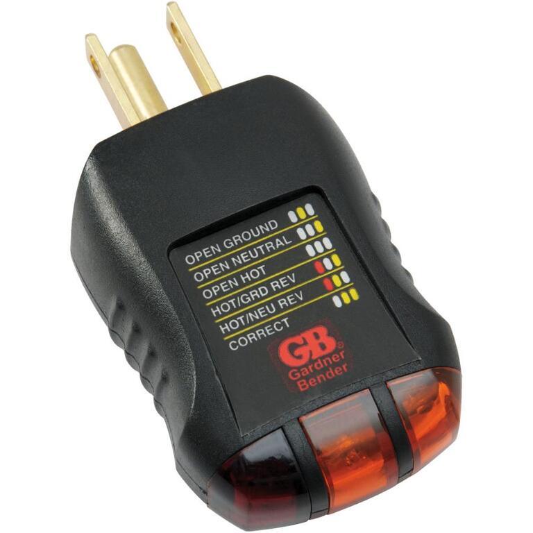 120 Volt Receptacle Tester - Home Hardware