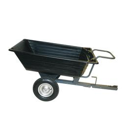650lb Capacity Poly Push/Pull Dump Cart thumb
