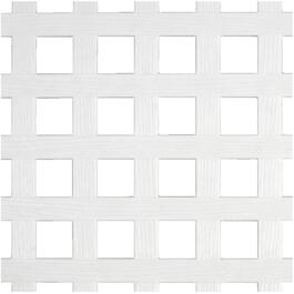 4' x 8' Square Vinyl Privacy Lattice thumb