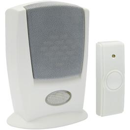 Wireless Battery Operated Hearing Impaired Strobe Doorbell Chime with Button thumb