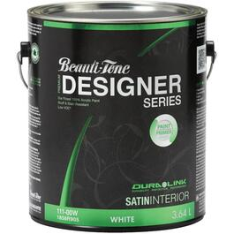 3.64L White Base Satin Finish Interior Latex Paint thumb