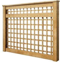 6' Pressure Treated Trellis Package, with Screen thumb