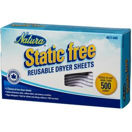 Static Free Reusable Fabric Softener Sheets thumb