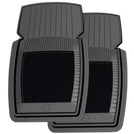 2 Piece New Generation Black Car Mat Set thumb