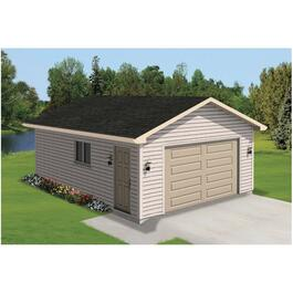 D4 Vinyl Siding Option Package, for 12' x 20' Garage thumb