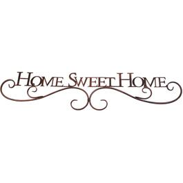 "10"" x 45"" Home Sweet Home Wall Plaque thumb"