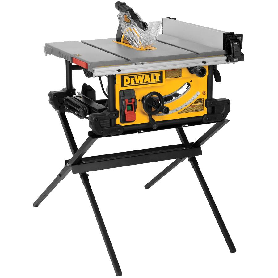 Dewalt 15 amp 10 in. compact table saw with stand