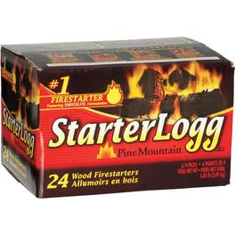 24 Pack 4.5oz Firestarter Starterloggs thumb
