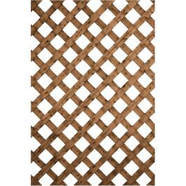 "4' x 8'  2-5/8"" Brown Pressure Treated Lattice thumb"