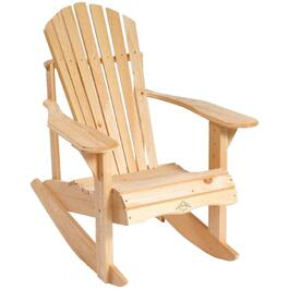 Pine Adirondack Rocking Chair thumb