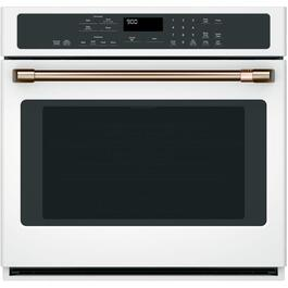 "30"" Matte White Convection Single Wall Oven thumb"