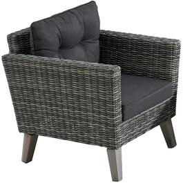 Seville Wicker Club Chair, with Cushion thumb