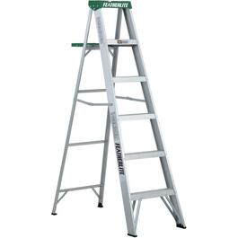 6' #2 Aluminum Step Ladder thumb