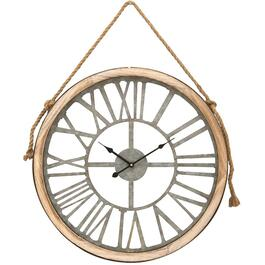 "16"" Round Wall Clock, with Rope thumb"