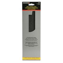 "5 Pack 3"" x 11"" 100 Grit Drywall Sandpaper thumb"