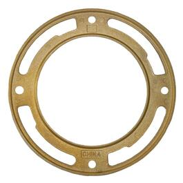 "4"" Brass Toilet Flange thumb"