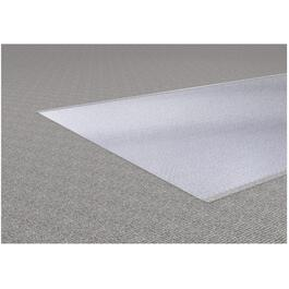 "1' x 27"" Clear Vinyl Cross Rib Carpet Runner thumb"