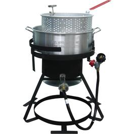 10 Quart Propane Fryer Set, with Pot thumb