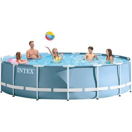 "15' Diameter 42"" Height Prism Frame Family Size Pool thumb"