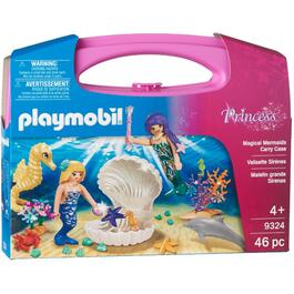 Magical Mermaids Playset, with Carry Case thumb