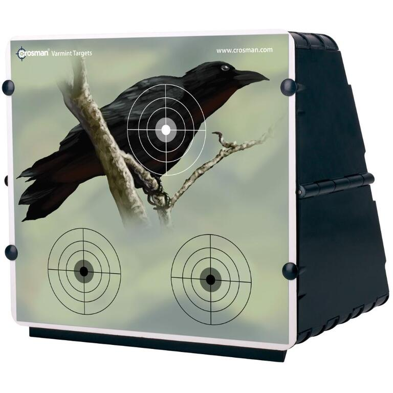 CROSMAN Pellet Target Trap, with 12 Paper Targets - Home