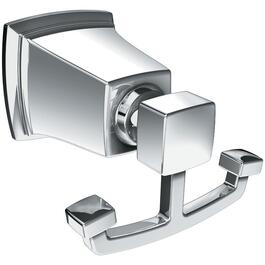 Boardwalk Chrome Double Robe Hook thumb
