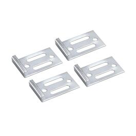 "4 Pack 1/4"" Deluxe Metal Mirror Clips thumb"