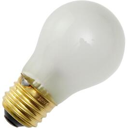 40W A15 Medium Base Inside Frost Appliance Light Bulb thumb