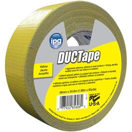 48mm x 54.8M Yellow Cloth Duct Tape thumb