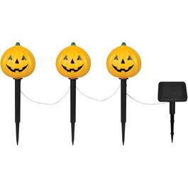 4 Pack Jack O'Lantern Stake Solar Lights thumb