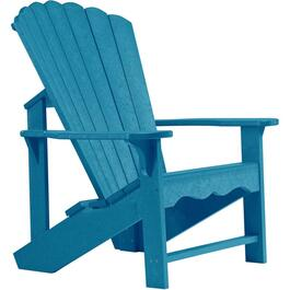 Cobalt Captiva Recycled Plastic Adirondack Chair thumb