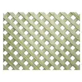 "2' x 8'  1-1/4"" Green Pressure Treated Lattice thumb"