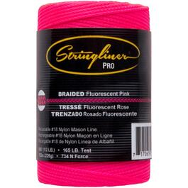 500' Pink Braided Nylon #18 Mason Line thumb